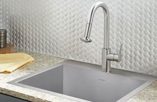 Sinks For Solid Surface. LivingStone. HI MACS Lovello Stainless Steel Staron